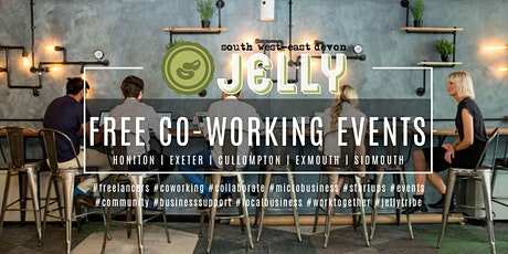 JELLY SOUTH WEST | CO-WORKING EVENT | SIDMOUTH tickets