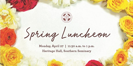 Woman's Auxiliary Spring Luncheon tickets