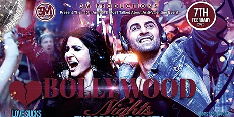 Bollywood Nights Breakup - Anti Valentines Party tickets