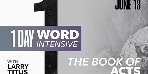 1-Day Word Intensive - June