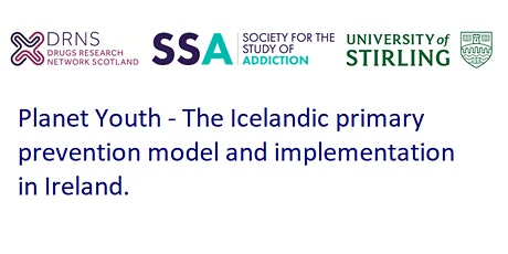 Planet Youth - The Icelandic primary prevention model in Ireland tickets