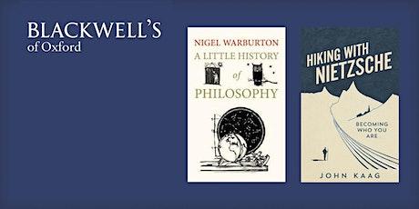 Philosophy in the Bookshop - Nigel Warburton and John Kaag tickets