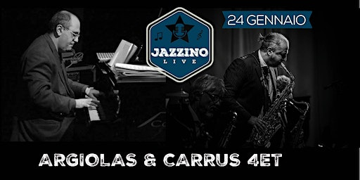 Argiolas & Carrus Quartet - Live at Jazzino