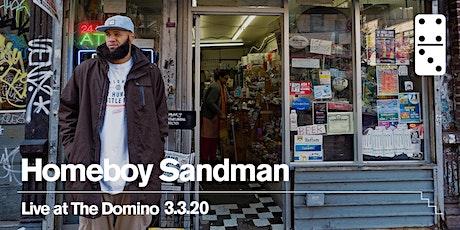 Homeboy Sandman tickets