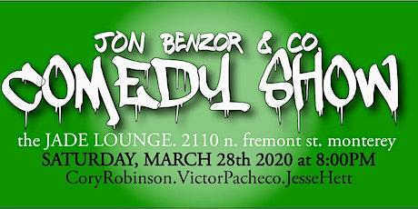 Jon Benzor & Co Comedy  tickets