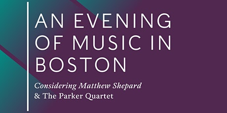 An Evening of Music in Boston tickets