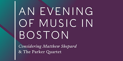 An Evening of Music in Boston