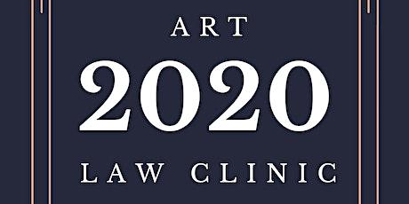 Art Law Clinic, January 2020! tickets