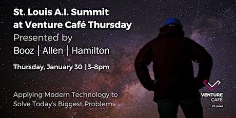 AI Summit at Venture Café Thursday presented by Booz Allen Hamilton tickets