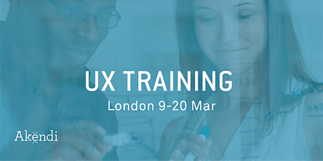 Virtual UX Training & Certification, GMT+1 zone - Jun 2020 tickets