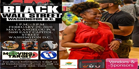 Black Wall Street Washington D.C.  tickets