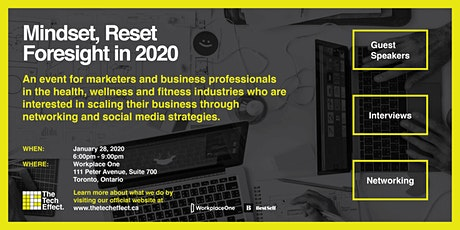 Mindset Reset: Foresight in 2020 tickets