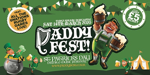 "Paddy Fest 2020 ""St Patricks Day Fest"" - Times Square Newcastle"
