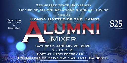 Tennessee State University - Honda Battle of the Bands Alumni Mixer 2020