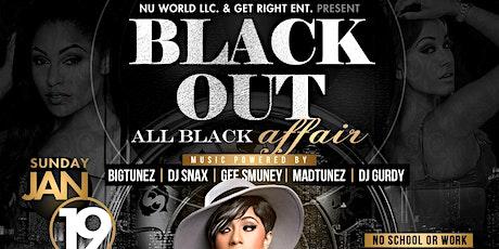 BLACK OUT: ALL BLACK AFFAIR tickets