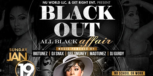 BLACK OUT: ALL BLACK AFFAIR