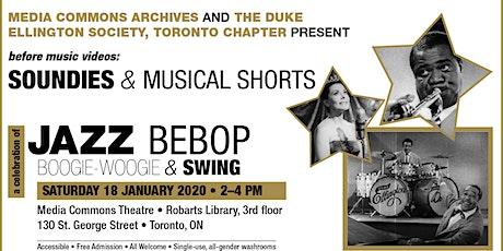 before music videos: Soundies & Musical Shorts - Jazz Bebop Boogie & Swing tickets