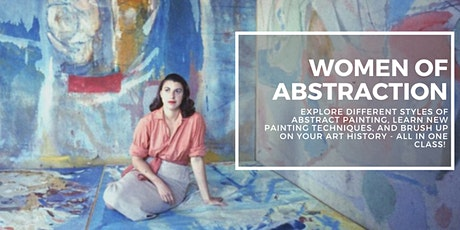 Women of Abstraction with Andrea Warren (8-Weeks) tickets