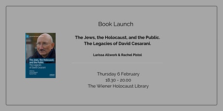 Book Launch: The Jews, the Holocaust, and the Public tickets