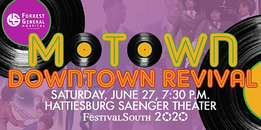 Motown Downtown Revival at FestivalSouth