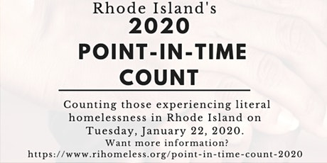 2020 Volunteer Point-in-Time Count Training tickets
