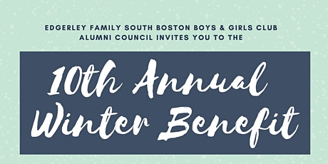 South Boston Alumni Council 10th Annual Winter Benefit tickets