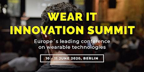 Wear It Innovation Summit 2020 tickets
