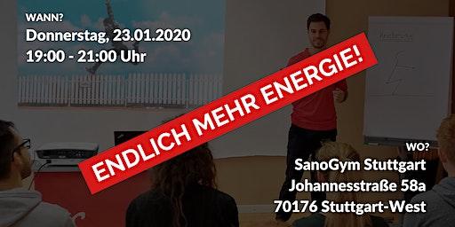 ENDLICH MEHR ENERGIE!