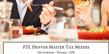 Master Tax Mixer (November 2020) tickets