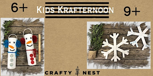 Kids Krafternoon (Drop off Program for ages 6 +) (Whitinsville)