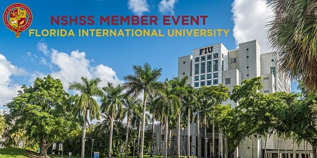 NSHSS Member Event at Florida International University tickets