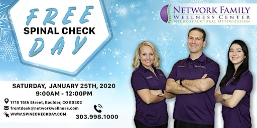 Free Spine Check Day!