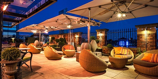 Valentine's candlelit Rooftop at Great John Street Hotel