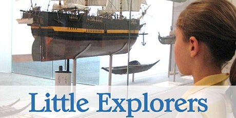 Little Explorers - Whales and Canoes, 10am – 10.45am  tickets