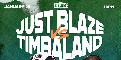 Just Blaze VS Timbaland at Big Chief DC