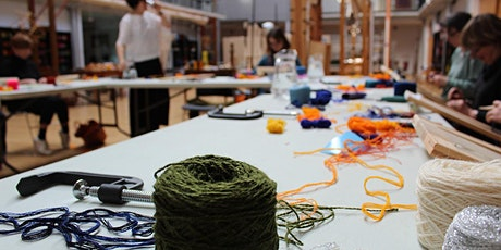 POSTPONED Tapestry Weaving Experience Day tickets