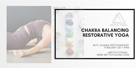 Chakra Balancing Restorative Yoga tickets