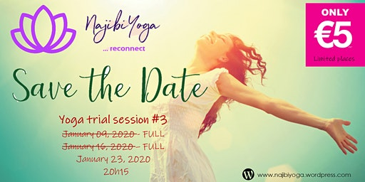 Yoga Trial Session [Best deal!] - All Levels