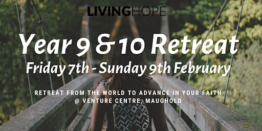 Year 9-10 Retreat