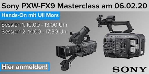 Sony PXW-FX9 Masterclass