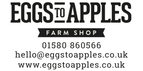 Sarah Hall Pop Up Restaurant at Eggs To Apples Farm Shop, Friday Jan 31st tickets