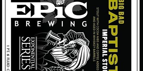 Epic's Big Bad Baptist Beer Dinner tickets