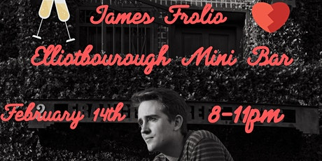James Frolio at Elliotborough Mini Bar tickets