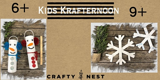 Kids Krafternoon (Drop off Program for ages 6 +) (Northboro)