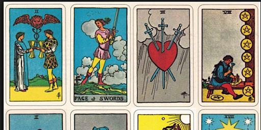 Tarot Meet and Greet, Swap, Raffle, Tea Party, Learn more about Tarot Cards