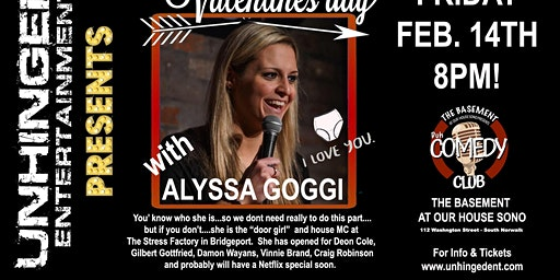 Unhinged Comedy Presents: Alyssa Goggi