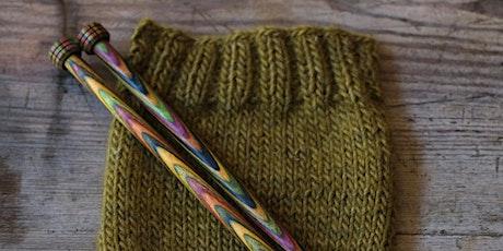 Beginners Knitting Part 1 & Part 2 tickets