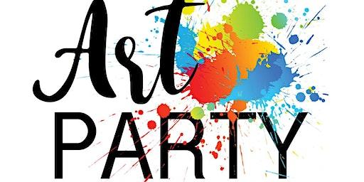 Calvary Christian School Art Party
