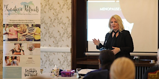 Professional Educational Menopause Day Retreats, Inspirational & Empowering