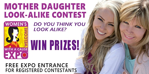 Mother Daughter Look-Alike Contest at the Tulsa Women's Expo with A Cause 2020